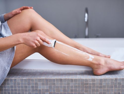 Shaving legs can be a cause of folliculitis